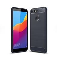 Huawei Y 6 2018 Case Carbon Drawing Anti-drop Phone Case Huawei Y 6 2018