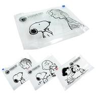 [史努比]立體環保夾鏈袋 口罩收納 大容量 三款任選【5ip8】[現貨]