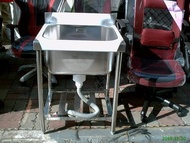 高雄 永輝~ 全新 不銹鋼水槽/不鏽鋼深水槽/2尺深水槽 便宜賣