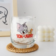 Cat and Mouse Internet Celebrity Dessert Milkshake Household Drinking Cups Milk and Tea Cups Milk Tea Milkshake Glass Men and Women Cold Drink