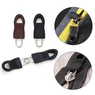 XIELISA 8Pcs DIY สำหรับกระเป๋าเดินทางกระเป๋าเป้สะพายหลังดึงเสื้อผ้าชุดซ่อมซิป Slider แบบรูดซิปหัวซิป