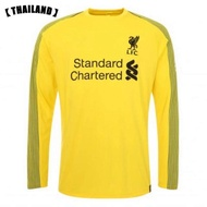 2019 Liverpool Goalkeeper Jersey Long sleeve New Season Home And Away and 3rd Football Jersey for the 2018/2019 Thailand Version