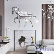 nmt Animal Horse Stereo Acrylic Mirror Wall Sticker TV Background Wall Decoration