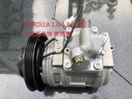 豐田 COROLLA 1.6/1.8 93-97 冷氣壓縮機 壓縮機 整理件 日本外匯A級品
