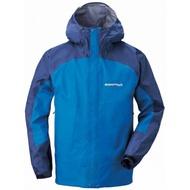 ├登山樂┤日本 mont-bell THUNDER PASS男款雨衣-藍/淺藍 # 1128344RBPR