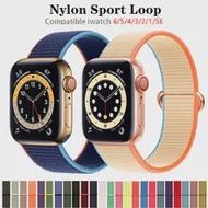 สำหรับApple Watch Band 40มม.44มม.38มม.42มม.กีฬาLoopเข็มขัดสร้อยข้อมือIwatch Correa apple Watch Series 3 4 5 SE 6