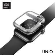 【UNIQ】Apple Watch Series 6/SE/5/4 44mm Garde全包覆輕薄透明防撞保護框(Apple Watch Series 4/5/6)