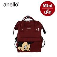 พร้อมส่ง‼️ กระเป๋า Anello Mickey ใบใหญ่ มี 5 / กระเป๋า Anello Đisnēy 2019 Polyester Canvas Backpack Limited