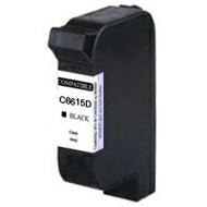 HP C6615D(15)【台灣耗材】HP C6615D(15) 環保黑色墨水匣適用HP DJ-810C/840C/845C/920C/948C/OJ-v40/psc500/pcs750/810C/840C/920C/948C/845C/美國優質墨水製造HP C6615D(15)