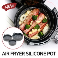 Air Fryer Silicone Pot Basket - No more Cleaning Air Fryer / Reusable Air Fryer box