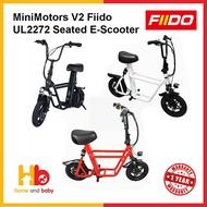 Minimotors Fiido V2 UL2272 Electric Scooter