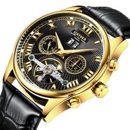 KINYUED國王錶 羅馬字機械皮帶手錶-2款(J011)
