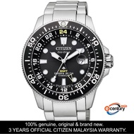 Citizen BJ7110-89E Men's Eco-Drive Promaster GMT Diver's 200M Super Titanium Watch