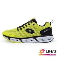 【LOTTO】男  AIR FLOW 4.0  風動跑鞋(螢光黃-LT0AMR1904)