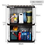 Alice Balcony Storage Cabinet Sunscreen Waterproof Garage Tool Cabinet Alice Outdoor Garden Locker