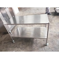 Stainless Steel Trolley, Kitchen Appliance, Stainless Trolley, Hotel Trolley, Push Cart