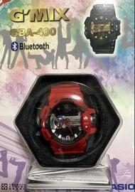 GBA-400 全新現貨 G-SHOCK GBA-400-4A 公司貨 法拉利紅