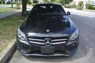 2016年款 C-CLASS Mercedes-Benz 賓士 C300 AMG 黑色 # 外匯車