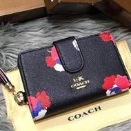 กระเป๋าสตางค์coach ขนาด4.5นิ้ว ใบสั้น