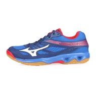 MIZUNO THUDNER BLADE 男女排球鞋-美津濃 藍紅白@V1GA177027@
