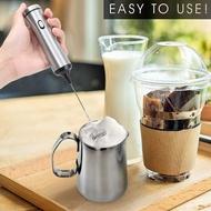 เครื่องทำกาแฟ สำหรับฟองนมคาปูกาแฟแบบพกพา USB Fast ห้องครัว Multifunctional Home ชาร์จเครื่องมือที่มีประสิทธิภาพมือถือ Mini เครื่องตีฟองนม