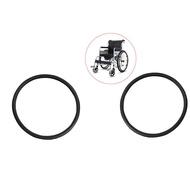 BolehDeals 2 Pieces Wheelchair Street Tire Fit for Standard 24x1-3/8  Wheel Chair