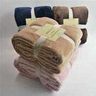 現貨供應 雙人加大毯被 素色頂級法蘭絨毛毯 雙層毯 純素色毯 絨毛被 冬季保暖加厚珊瑚絨毯 保暖毯 羊毛羔毯 睡毯 被子