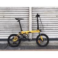 Camp X Lite -- Shimano Sora 1 x 9 speed -- Hydraulic Brake -- Folding Bike -- Basikal Lipat