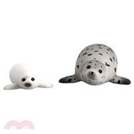 TOMICA多美動物園AS22─海豹(附小海豹)