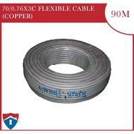 70/0.76X3C FLEXIBLE CABLE (COPPER)