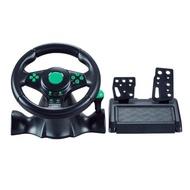 【十里鋪&雜貨舖】熱銷XBOX360 PS3 PC電腦仿真模擬駕駛有線震動賽車遊戲方向盤