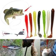 70毫米2克 路亞餌 魚型 T尾魚 軟魚 軟餌軟蟲9色 根釣  軟蟲 軟餌