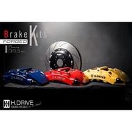 美國 H.DRIVE 3D鍛造卡鉗 贈送緊繃5.1煞車油 大六活塞 大6活塞 大六卡鉗 大6卡鉗 BREMBO AP