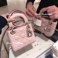 Una Avenue*Dior lady 黛妃包 菱格紋 保證正品
