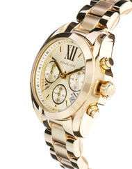 Michael Kors GoldBradshaw Authentic and Pawnable watch - Mens Watch OR Womens watch for Formal or Casual