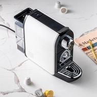 เครื่องกาแฟแบบแคปซูล Ground กาแฟเอสเปรสโซ่ Maker ร้อนและสกัดเย็นผงกาแฟทำ Home Office Helper Nespresso