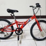 20吋 6段變速 捷安特兒童腳踏車