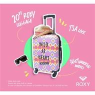 唯一現貨Roxy夏日繽紛超輕量硬殼旅行箱 20吋登機行李箱