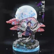 YOQIDOLL 31ซม.Demon Slayer รุ่น Devil 'S Blade Action Figure Kochou Shinobu บินท่าทาง Moon รูปปั้น Kimetsu GK ตุ๊กตา
