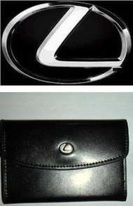 【原廠精品】LEXUS零錢包/名片夾/信用卡夾,首富比爾蓋茲、郭台銘都是LEXUS車主*