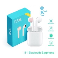 Headset Bluetooth TWS i11 Twins Bluetooth with Charging Dock