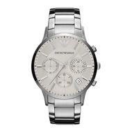 Emporio Armani_Women's Sportivo Chrono White Dial Fashion casual watchAR2459
