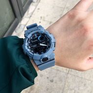 卡西歐G-SHOCK霧霾藍錶運動防水男手錶GBA-800UC-2A/5A/EL-4A
