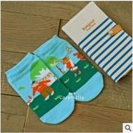 【現貨特價】新品caramella 日系 山羊夫妻全棉卡通直板襪子