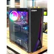 คอมพิวเตอร์สำหรับเล่นเกมส์ Core i7+ RX 580 8GB+RAM 16GB