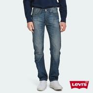 Levis 男款 514低腰合身直筒牛仔褲 / 復古刷白 / 無彈性 M