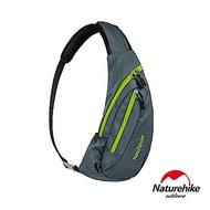 Naturehike 6L多功能防水單肩斜背包 胸前包 深灰