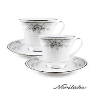 【Noritake 】天使花環對杯