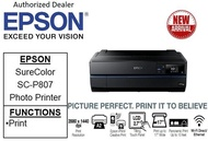 Epson SureColor SC-P807 Business , Borderless & Multi-media Professional 9-Colour photo printer   SCP807 SC **Free $80 NTUC voucher till 25th Jun 2020 , WALK-IN-REDEMPTION by 31/07/2020 at Epson Service Centre***