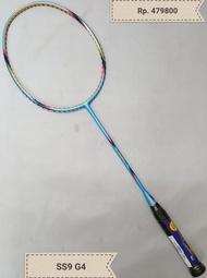 NEW Original raket lining super series Ss8 G4 . ss9 G4 raket badminton